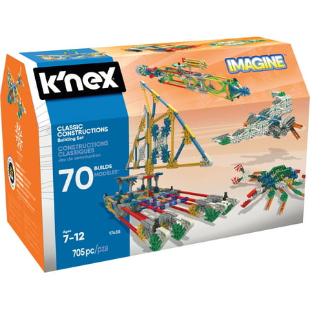 Action Building Set - K'NEX Imagine - Classic Constructions 70 Model Building Set