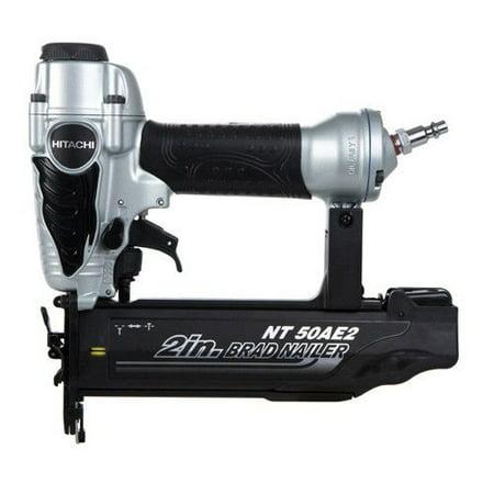 2in 1 Air Nailer - Hitachi NT50AE2 2-Inch 18 GA Finish Nailer