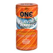 ONE Flavor Waves Condoms, 12ct