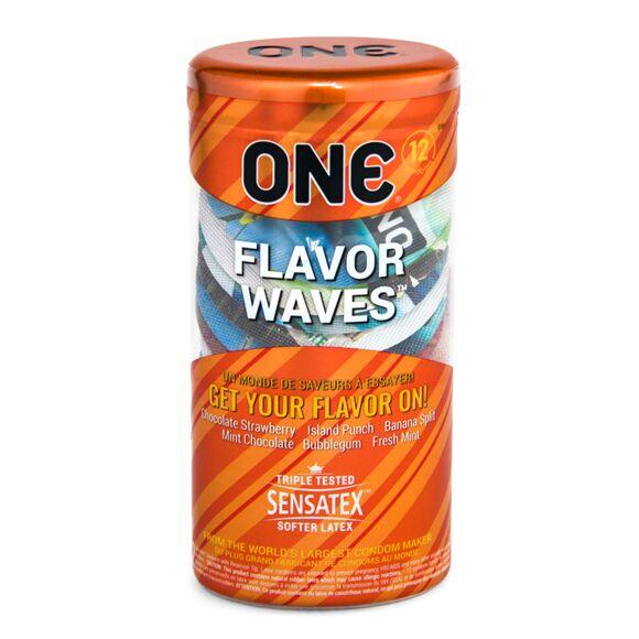 ONE® FlavorWaves Condom 12pk