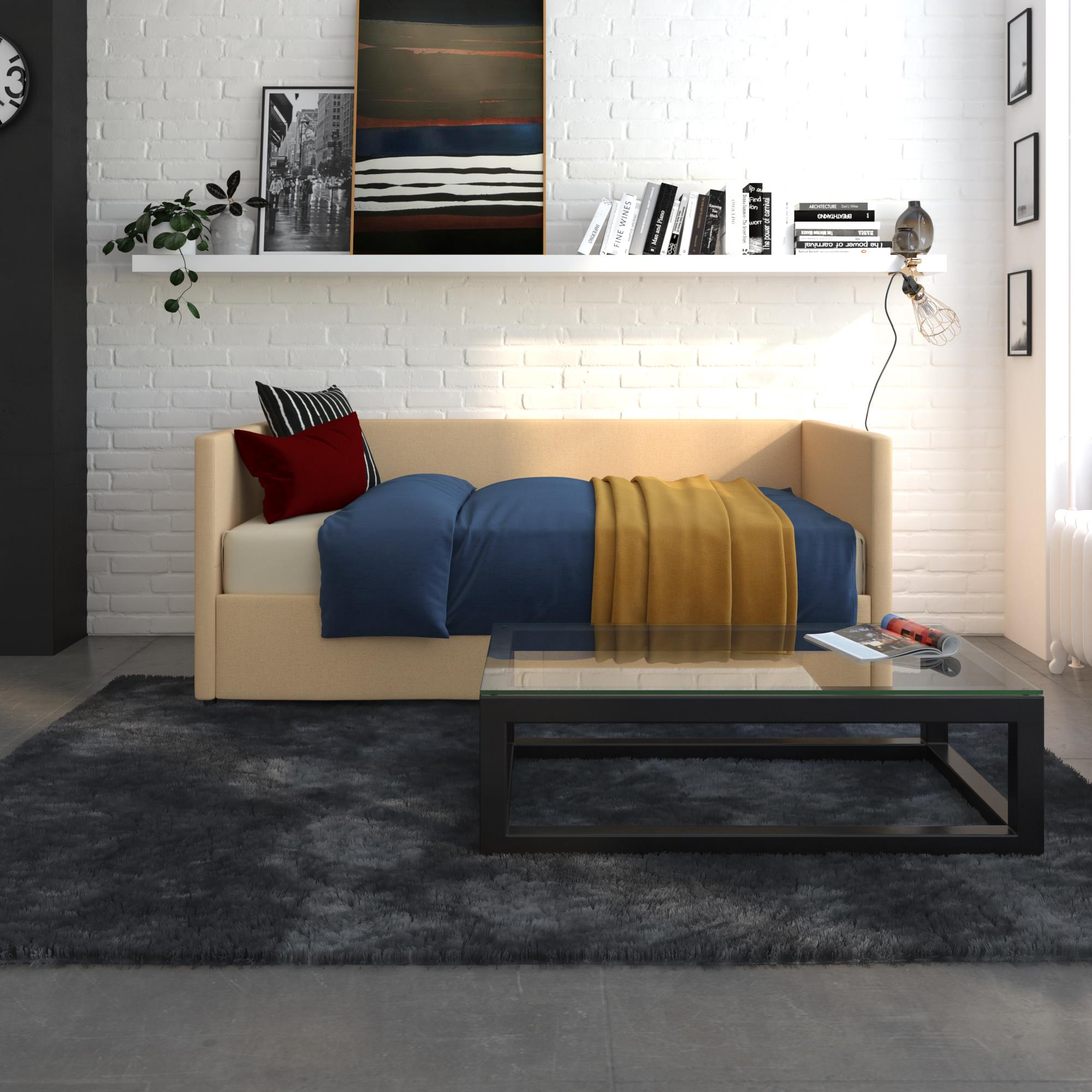 DHP Urban Daybed with Storage, Multiple Colors