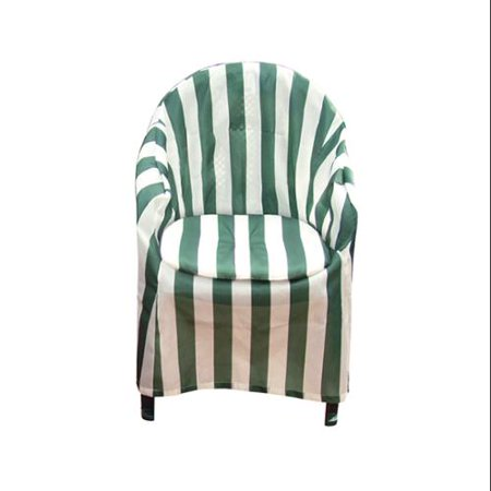Patio Gift - Striped Patio Chair Cover with Cushion
