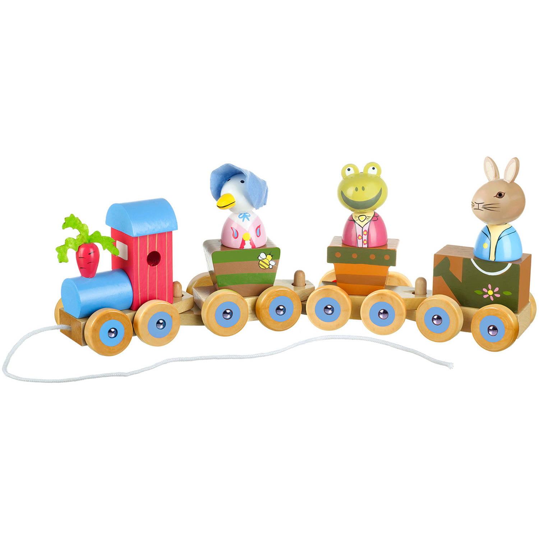 Orange Tree Toys Peter Rabbit Wooden Puzzle Train
