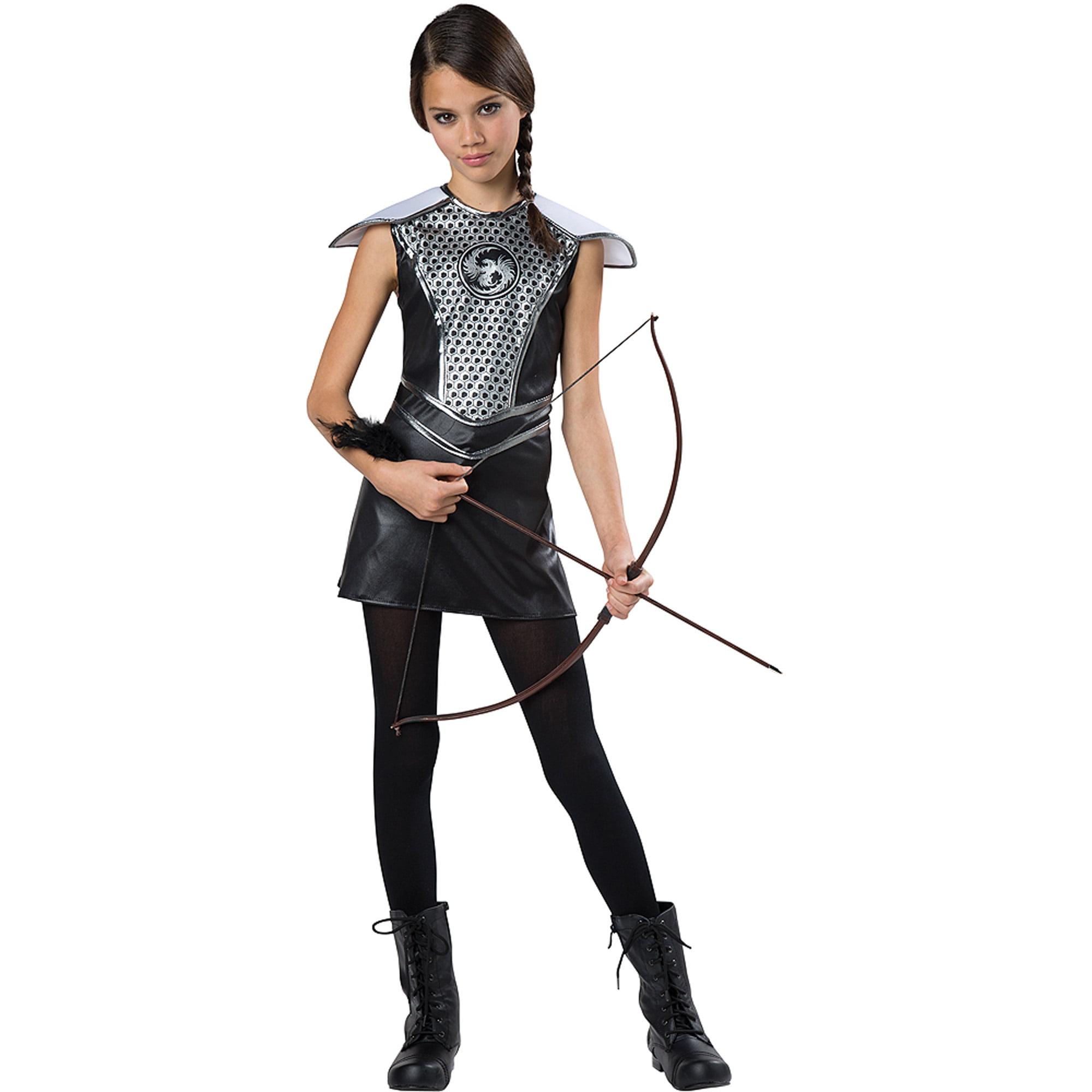 Dark Huntress Child Halloween Dress Up / Role Play Costume
