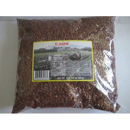 Foods With Flax Seed (Linaza Flax Seed Whole Pack of 16 Oz 1 Lb)