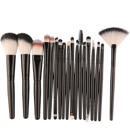 Easy-life 18 Pcs MAANGE Makeup Tools Set Brushes Suit Foundation Eye Lip Eyeshadow - image 2 de 3