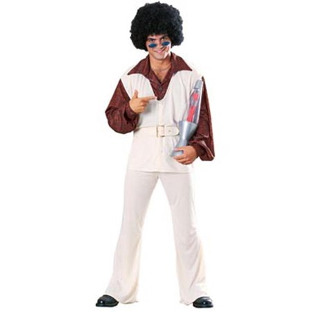 Adult Polyester Pete Groovy Disco 70s Costume Rubies 15859](Pete Carroll Halloween)