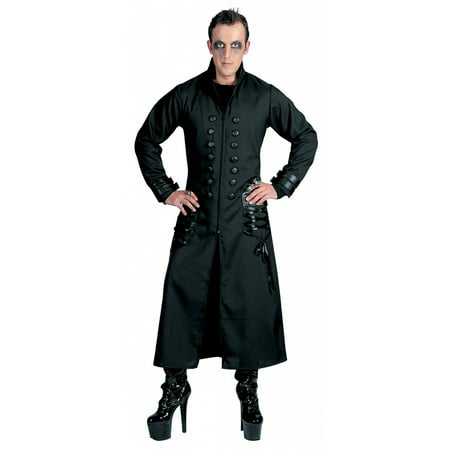 Goth Coat Adult Halloween Accessory