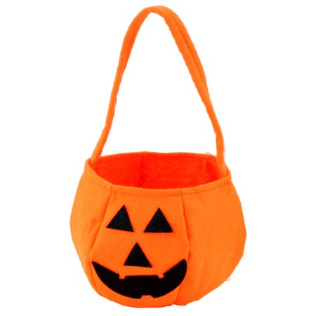 Halloween Smile Pumpkin Bag Kids Candy Bag Children for $<!---->