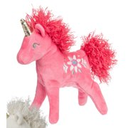 Mary Meyer Trinkets Bright Pink Blush Unicorn Plush Toy, 7""