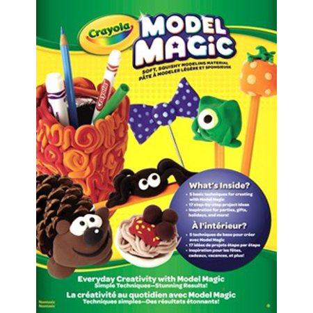 Crayola Model Magic Project Booklet, Craft Book, Gift for Kids (Fall Craft Projects)