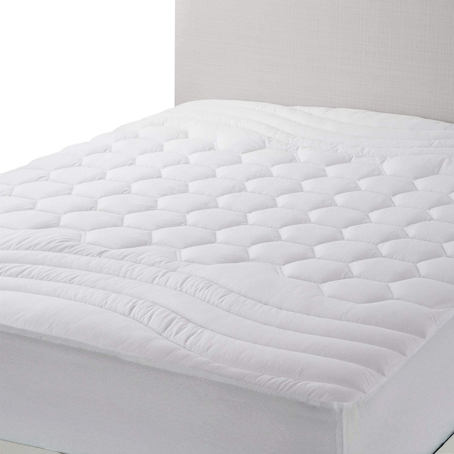 Odor Control Hypoallergenic 39x75 No Noise Total Protection Twin Mattress Pad