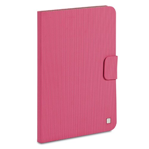 Verbatim Folio Carrying Case [book Fold] For Ipad Air - Bubblegum Pink - Scratch Resistant, Smudge Resistant - Textured (98415)