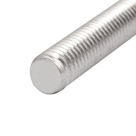 M8 x 170mm 304 Stainless Steel Fully Threaded Rods Fasteners Silver Tone 5 Pcs - image 1 of 3