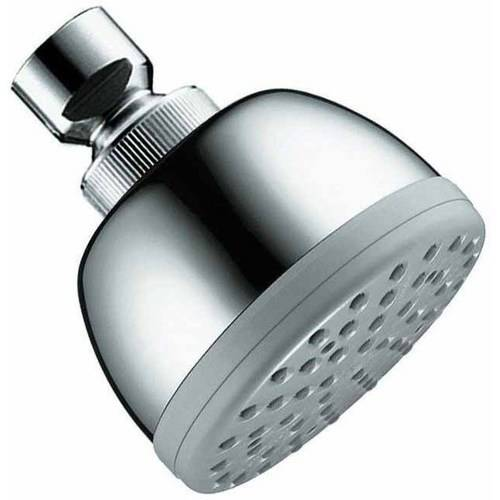 """Hansgrohe 28492001 Croma Shower Head Single Function with 2-1/2"""" Spray Face, Chrome"""