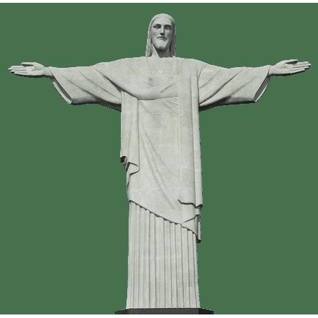 Laminated Poster Landmark Rio De Janeiro Brazil Christ Statue Rio Poster Print 11 x (Statue De Jesus A Rio De Janeiro)