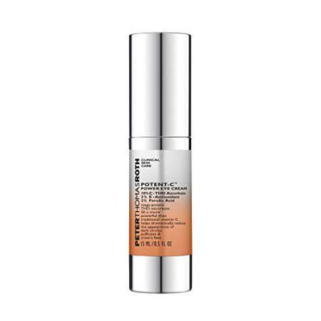 Peter Thomas Roth Potent-C Power Eye Cream 0.5oz (Best Rated Peter Thomas Roth Products)