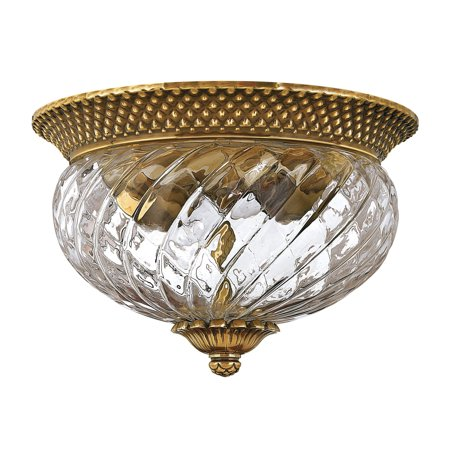 Hinkley Lighting H4102 2 Light Indoor Flush Mount Ceiling Fixture From The Plant Pearl Ceiling Lighting
