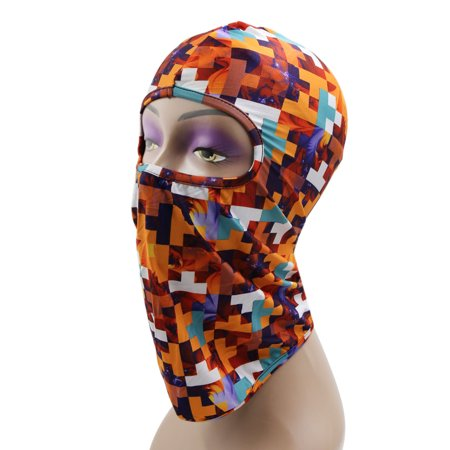 Outdoor Sports Cycling Balaclava Full Face Mask Neck Cover Protective Hood #6