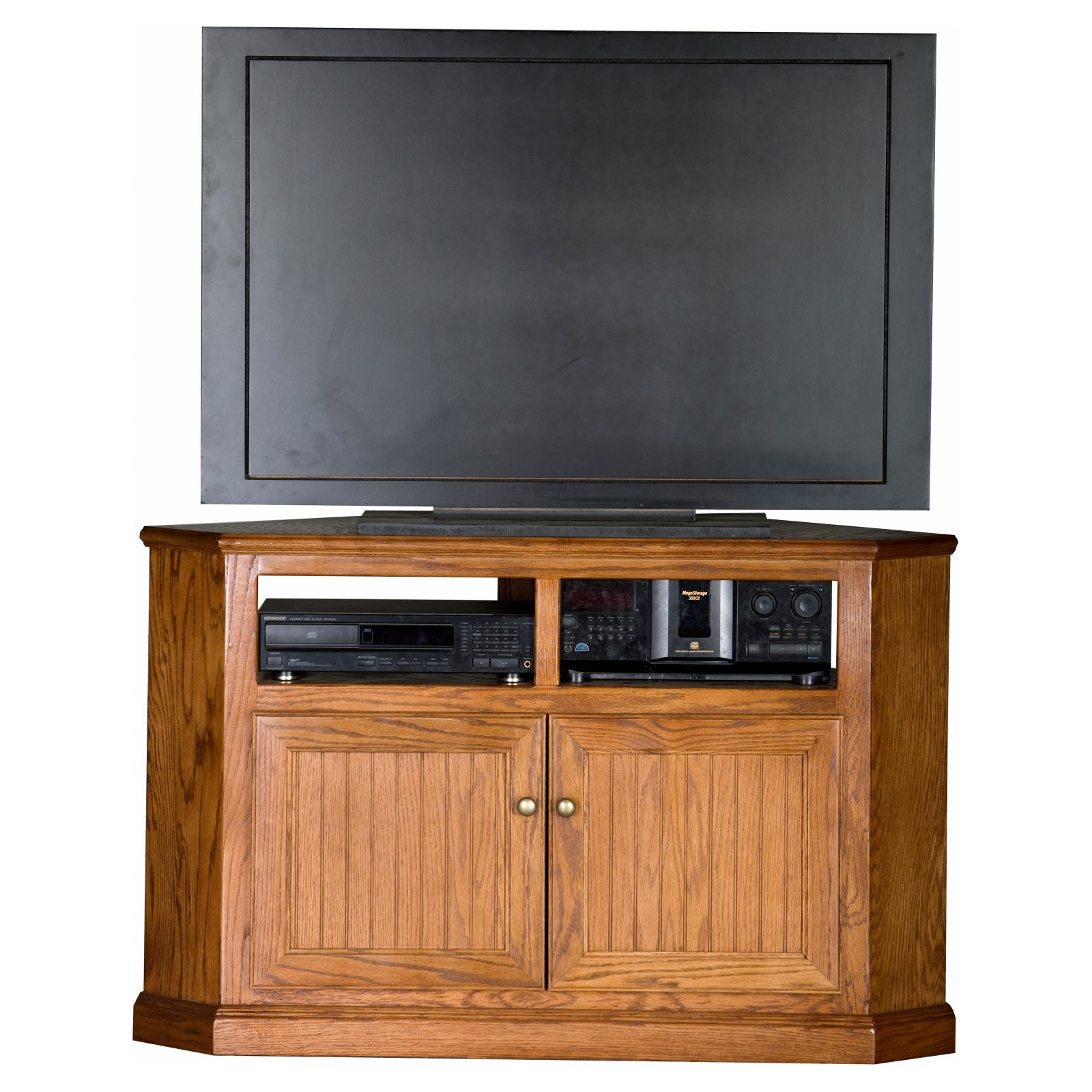 Eagle Furniture Heritage Customizable 50 In Tall Corner Tv Stand