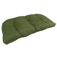 Lava Cabana Moss Sunbrella Outdoor U Settee Cushion
