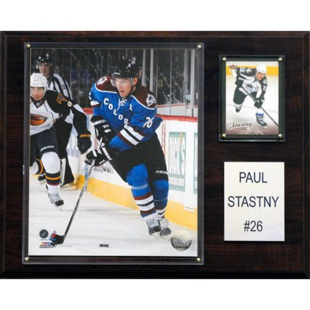 C&I Collectables NHL 12x15 Paul Stastny Colorado Avalanche Player Plaque