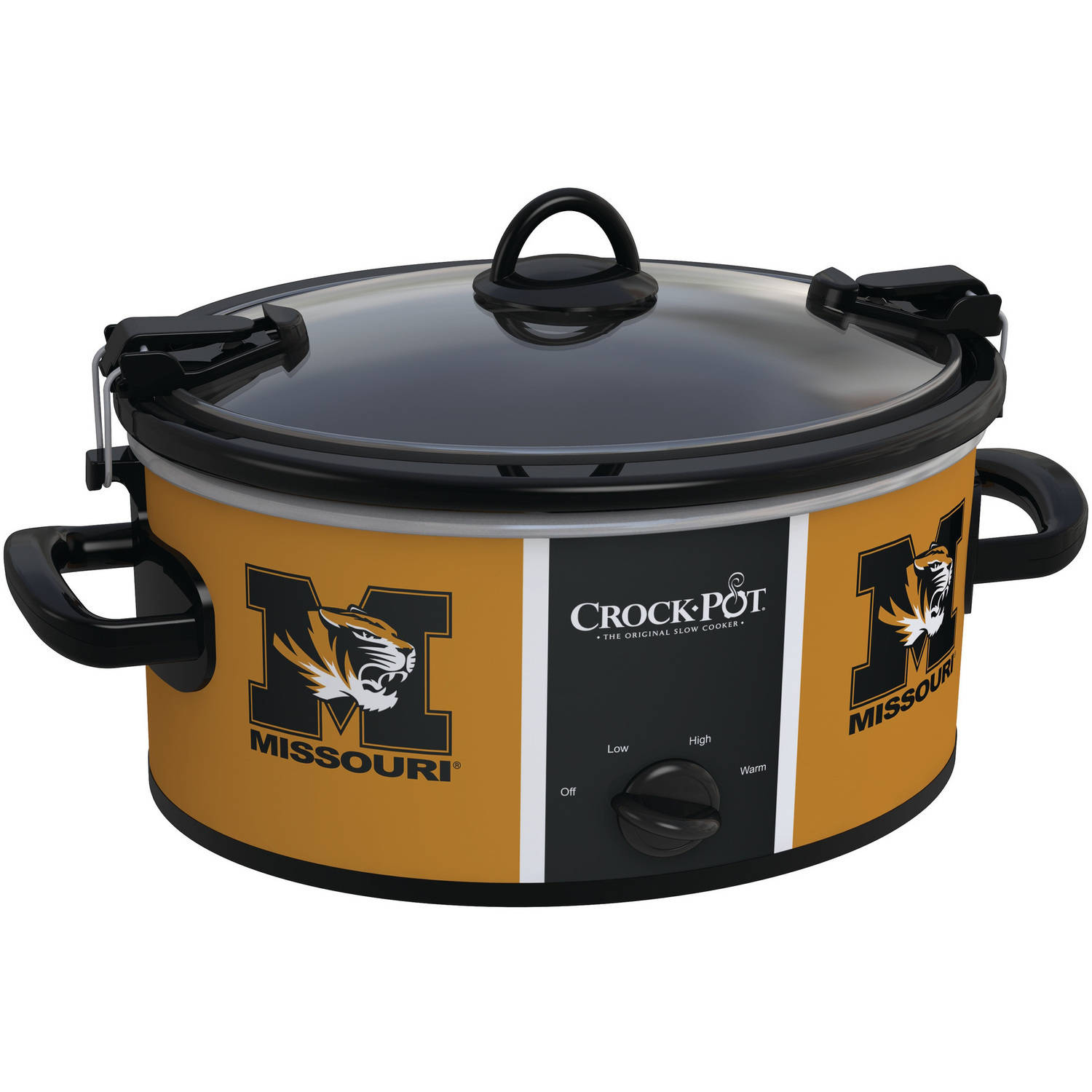 Crock-Pot NCAA 6-Quart Slow Cooker, Missouri Tigers