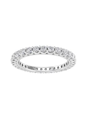 1.00 Carat tw Diamond Eternity Band in 10k Gold (1.00ctw, G-H Color, I2-I3)