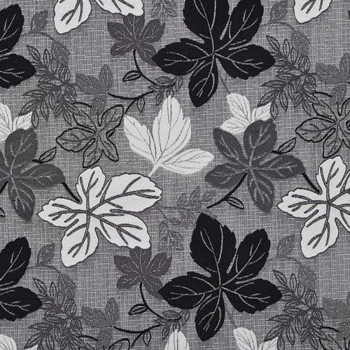 Wildon Home  Metallic Leaves Tweed Fabric