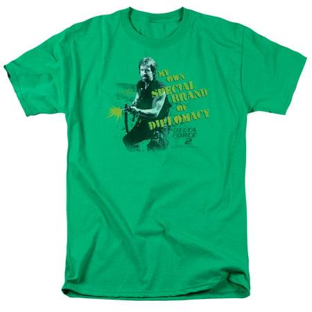Delta Force 2 Special Diplomacy Mens Short Sleeve Shirt