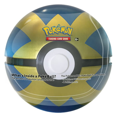 POKEMON POKE BALL TIN BLUE -