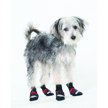 Fashion Pet Lookin Good Extreme All Weather Boots for Dogs, X-Large, Red, There Is A Reflective Tape on Top By Ethical Pet Ethical Pet Fashion