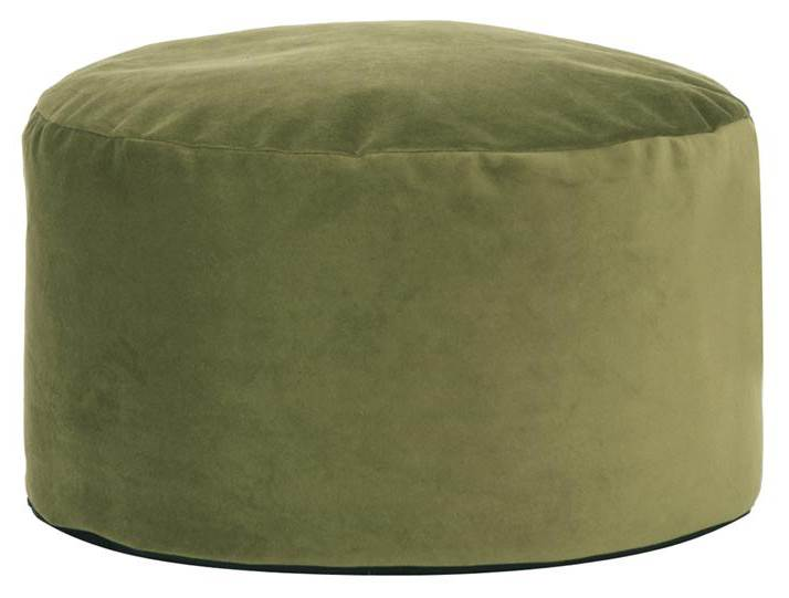 22 in. Foot Pouf in Green by Howard Elliott Collection