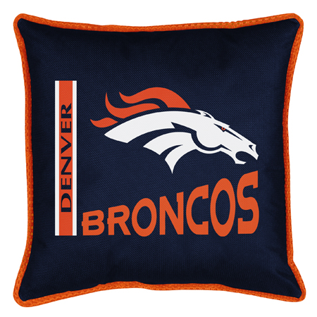 Sports Coverage Inc. NFL Denver Broncos Throw Pillow