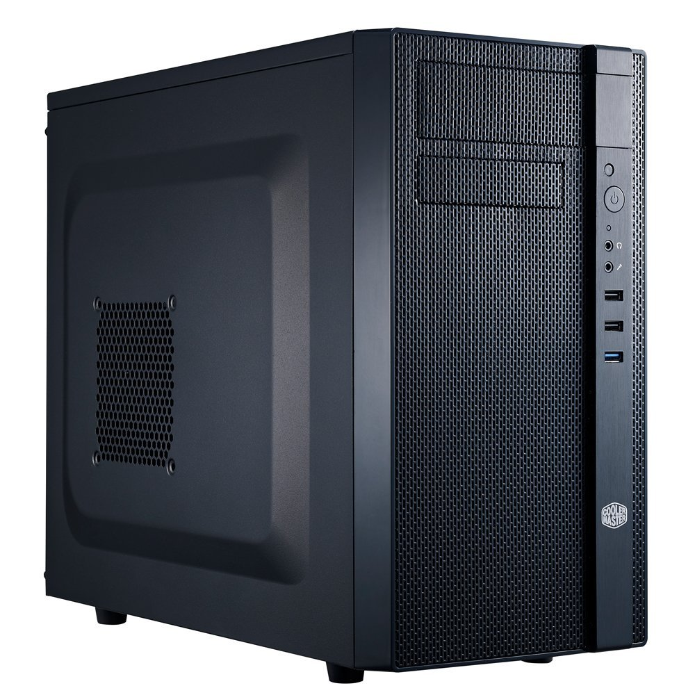 Cooler Master N200 - Mini Tower Computer Case with Fully Meshed Front Panel and mATX/Mini-ITX Support (NSE-200-KKN1)