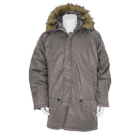 - FoxOutdoor 63-19 XXXL Gi Style N-3B Parka - Grey, 3XL