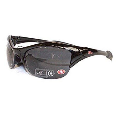 NFL Officially Licensed Team Color Half Blade Wing Sunglasses (San Fransisco 49ers) - 49ers Sunglasses