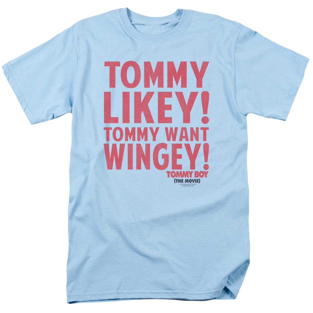 Tommy Boy Want Wingey Mens Short Sleeve Shirt