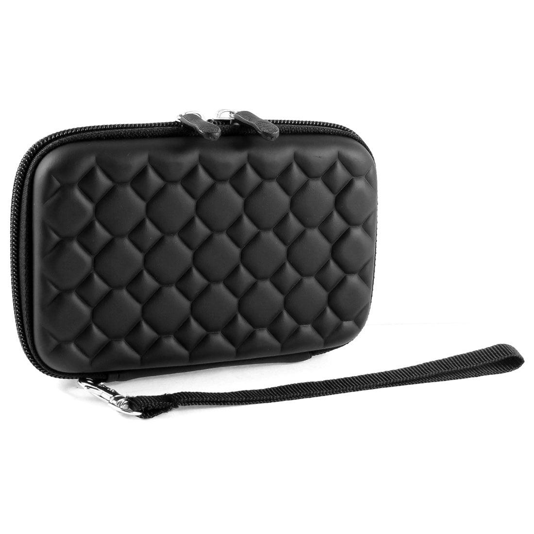 Unique Bargains Black EVA Protable 2.5 Inch External HDD Hard Disk Drive Protect Case Bag Pouch
