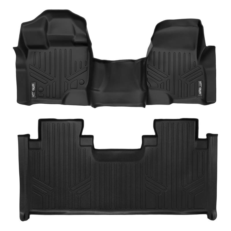 Maxliner   Ford F  Super Cab Floor Mats With Front Bench Seats