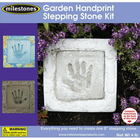 Milestones Garden Hand-Print Stepping-Stone Kit - Garden Stone Kit