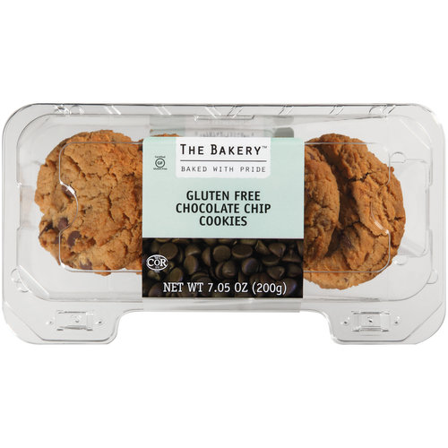 The Bakery Gluten Free Chocolate Chip Cookies, 7.05 oz