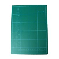 1 PVC Dark Green Rectangle Self Healing Cutting Mat Tool 3 Layer A4 Craft 11-...