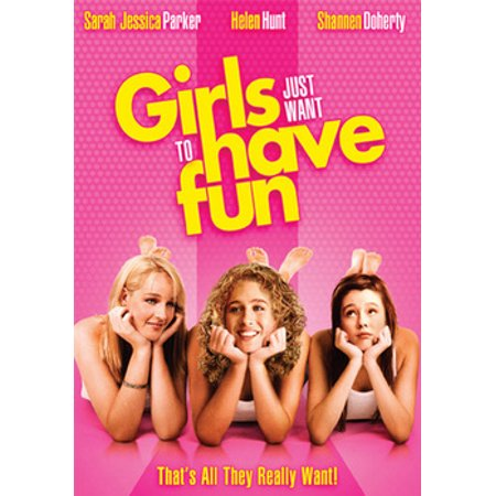 Girls Just Want To Have Fun (DVD) - Pink Girl Movie