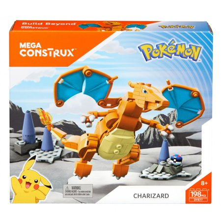 Mega Construx Pokemon Charizard Figure - Pokemon Toms