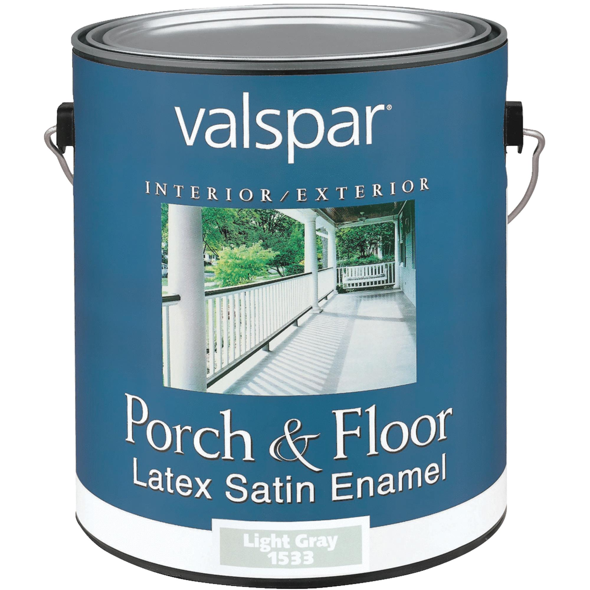 Valspar Self Priming Latex Satin Porch & Floor Enamel