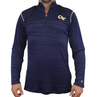 Georgia Tech Yellowjackets NCAA Champion Zone Blitz Men's 1/4 Zip Pullover Shirt