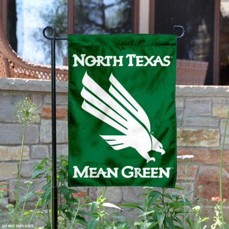 "North Texas Mean Green 13"" x 18"" College Garden Flag"