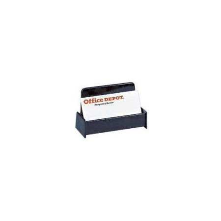 Office Depot Brand 30 Recycled Business Card Holder Black