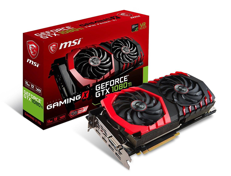 Geforce GTX 1080 Ti Graphics Card by MSI